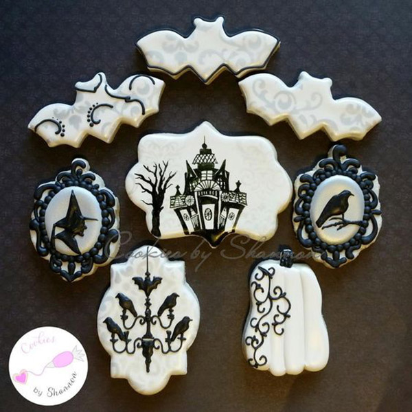 Love these silhouette Cookies