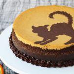 Silhouette Halloween Cheesecake