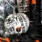 Spooktacular Halloween Party Ideas. Halloween pumpkins- B. Lovely Events