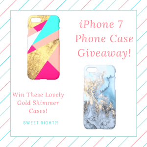 Lovely iPhone 7 Cases Giveaway!