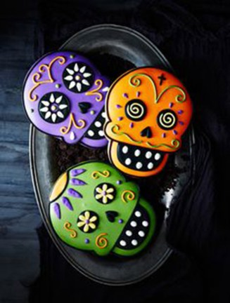amazing day of the dead cookies- See more ideas on B. Lovely Events