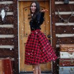 buffalo plaid outfit for Christmas- See More Buffalo Check Ideas on B. Lovely Events