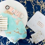 Marble and gold christmas gifts- see them all on B. Lovely Events