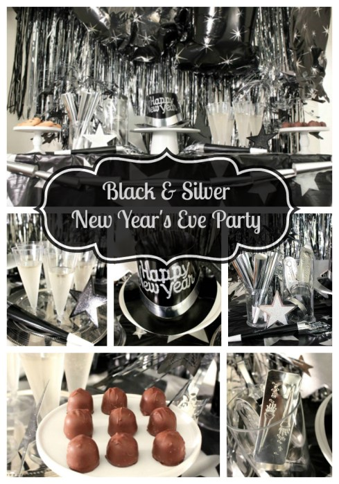 Black and Silver New Year's Eve Party - With Amols!