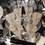 New Years eve party champagne flutes With Amols & B. Lovely Events