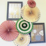 Love these Christmas pinwheels- See more holiday home tour on B. Lovely Events