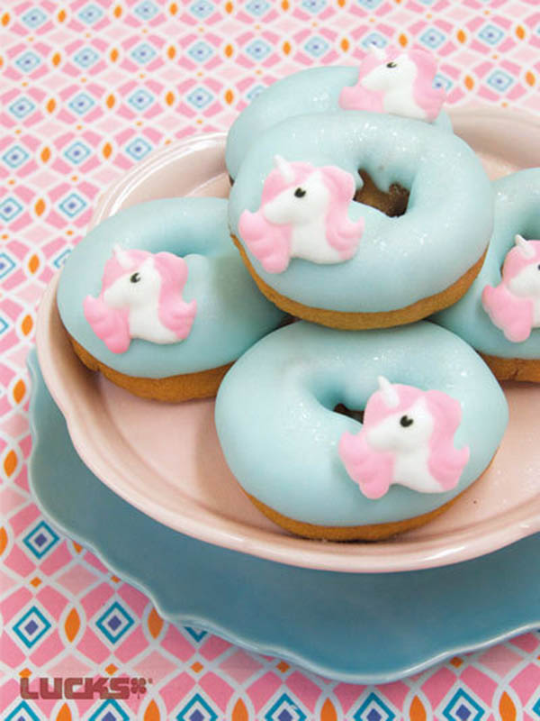Lovely Unicorn Donuts!- See more lovely Unicorn Party Ideas on B. Lovely Events