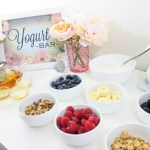 Home Spa Day Tea Party And Yogurt Bar- B. Lovely Events