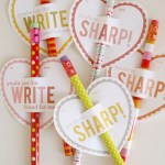 Pencil Valentine's Day Cards!- See all of the lovely Pencil Valentine's Day Cards on B. Lovely Events