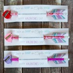 Pencil and sharpener valentines day cards - See all of the lovely Pencil Valentine's Day Cards on B. Lovely Events