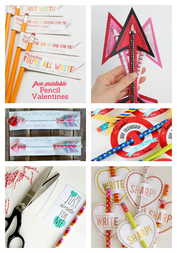 Valentine's Day Pencil Ideas and Cards!