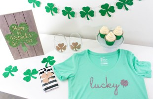 Loving Shamrocks & The New Cricut Explore Air 2™!