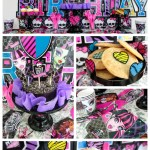 Monsters High Birthday Party- See More On B. Lovely Events