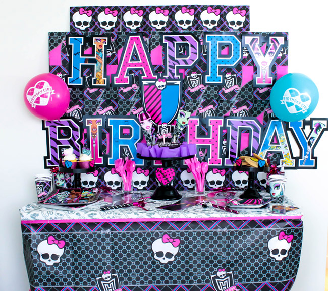 Throw A Fangtastic Monster High Party! - B. Lovely Events