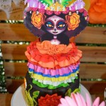 Day of the Dead Fiesta Cake!- See more fiesta cakes on B. Lovely Events