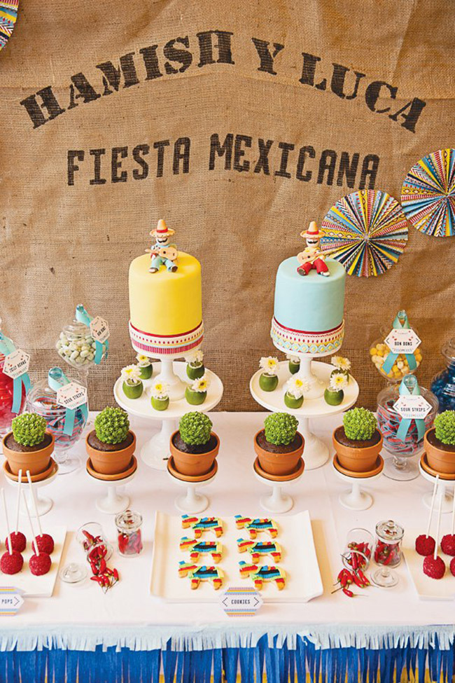 Fun Fiesta Cake ideas- See more ideas on B. Lovely Events
