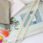 DIY Accessory Frame- Learn how to make this in a few easy steps on B. Lovely Events