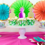 DIY Summer Party Cupcakes- B. Lovely Events