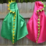 Fun Dino capes for a dinosaur party!