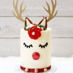 Our New Obsession: Adorable Reindeer Cakes!