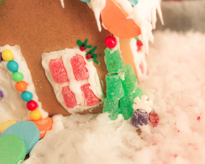 Winter Wonderland Gingerbread House gumdrops- B. Lovely Events
