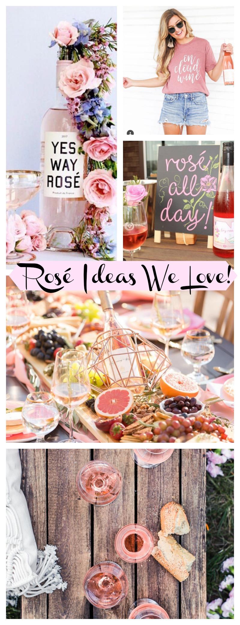 Rosé ideas we love! - B. Lovely Events