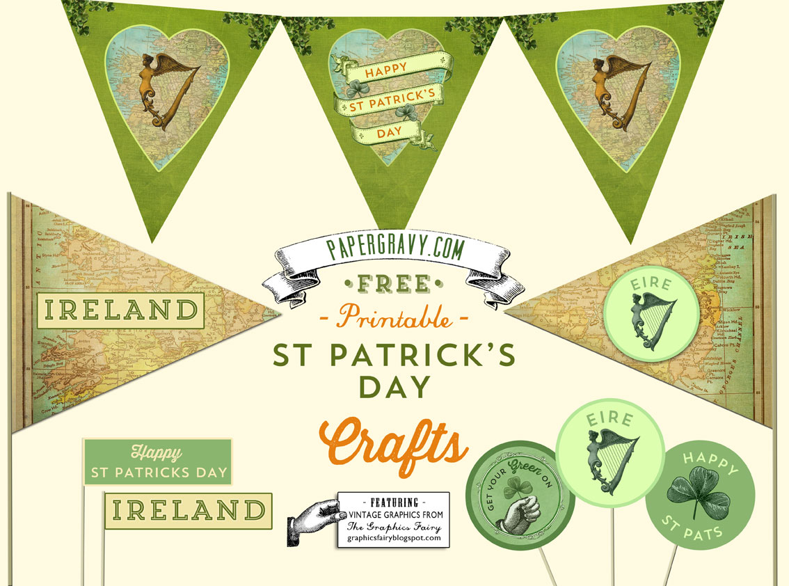 St Patrick S Day Free Printables