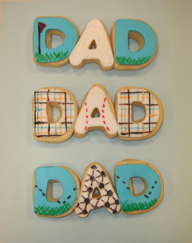 Dad cookies for Father's Day