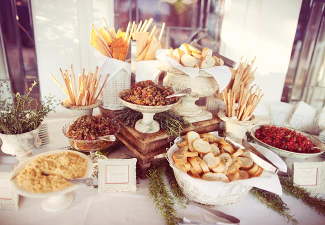 bruschetta bar for house party