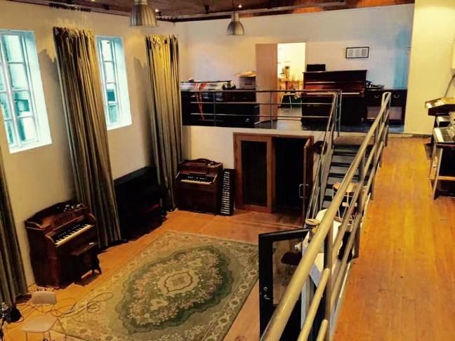 冰島 Sundlaugin 錄音室(惘聞提供)
