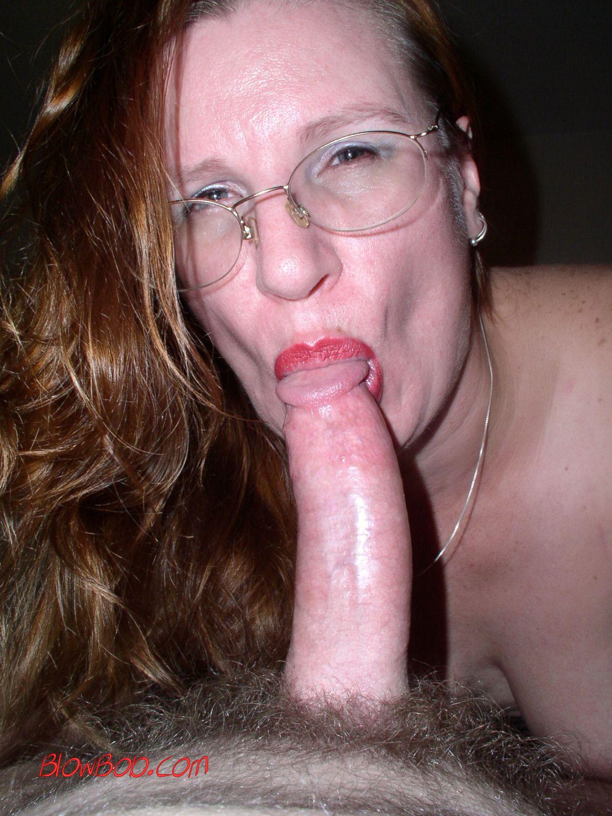 Sexy blowjob lips