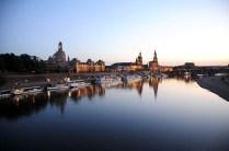 Sunset on Elbe