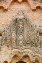 carved stucco door