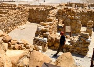 Walking through Qumran