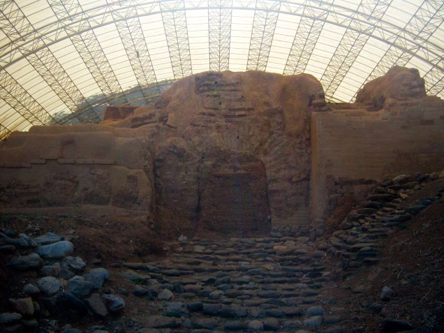 This is the gate that Abraham probably entered through when he rescued his nephew Lot in Genesis 14:14. Yes, it's that old!