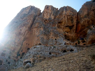 These caves were used during the Crusades and after, by people from Magdala and other villages below fleeing the battles. These caves were more defensible, but if the villagers were pursued, they would be essentially besieged, and unable to leave.