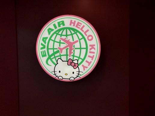 Hello Kitty EVA Air Check-In