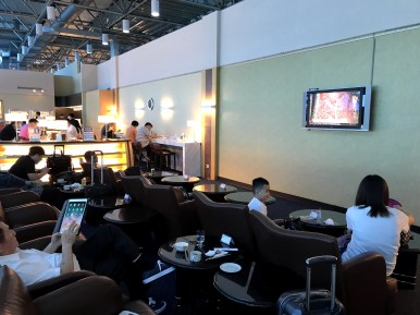 TV seating area