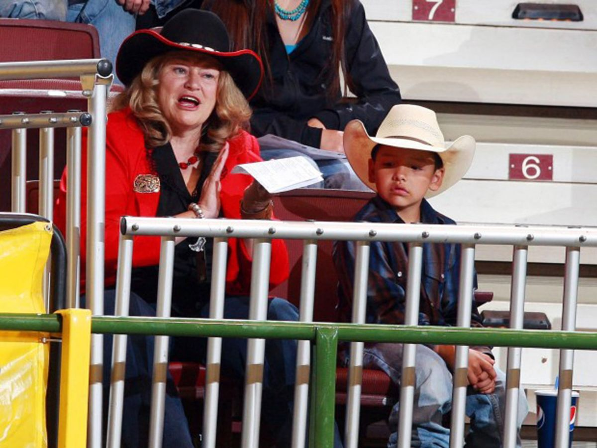 For Montana Western Rodeo It S Been Olie And Her Kids