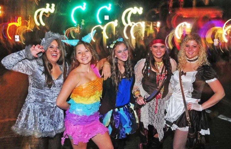 The annual halloween block party at ohio university has been canceled. Halloween Block Party Photo Gallery Athensmessenger Com
