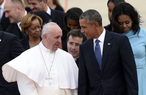 Pope Francis arrives in United States | | auburnpub.com