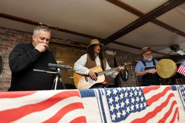 Flock of Free Range Children sing for Millard Fillmore's 213th Birthday, Summerhill, New York