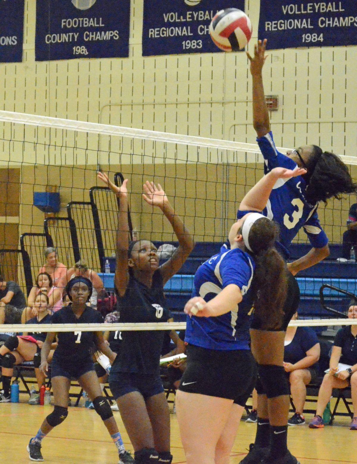 Chesapeake volleyball wins inaugural Bayhawk tournament ...