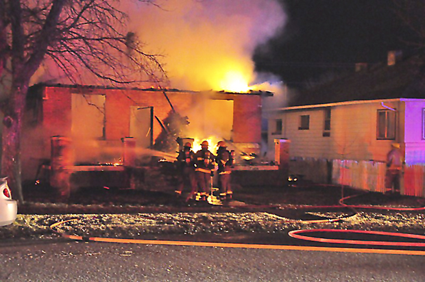 Three Forks Home Burns Local News