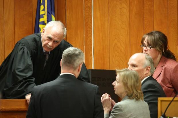 District Court Judge Richard Simonton. 7th Judicial District