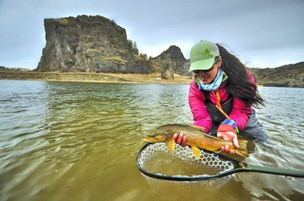 Fly-fishing TV show host stays cool amid glitches ...