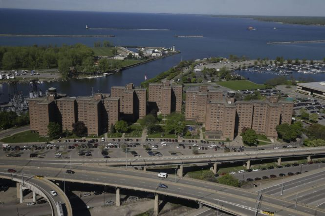Marine Drive Apartments In Trouble On