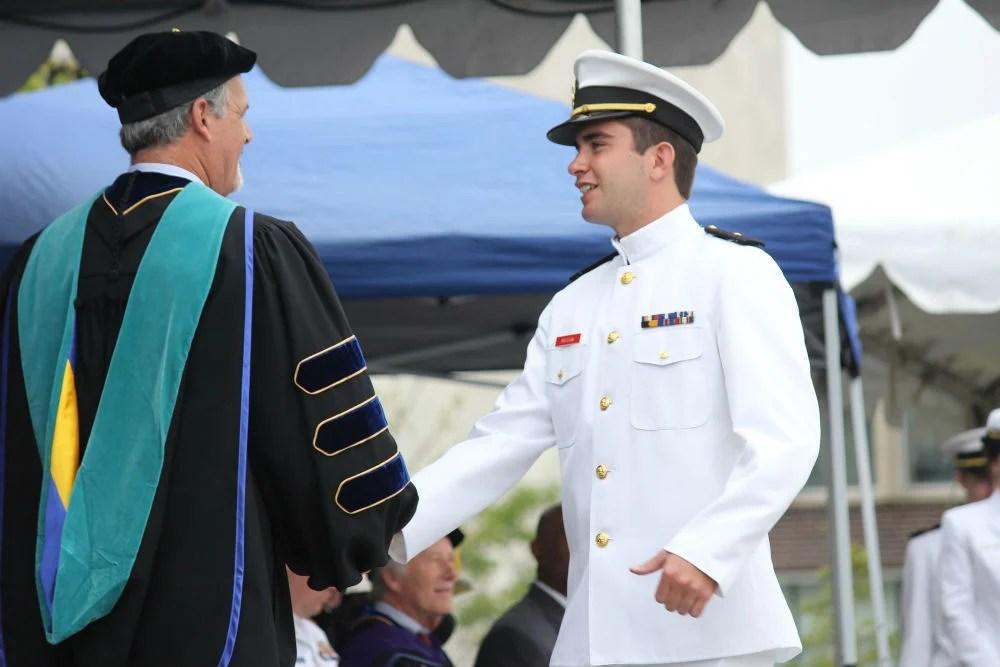 Class Of 2017 Massachusetts Maritime Academy Graduation