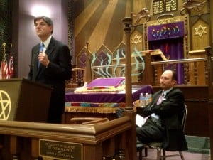 Green Road Synagogue hosts current and former White House execs