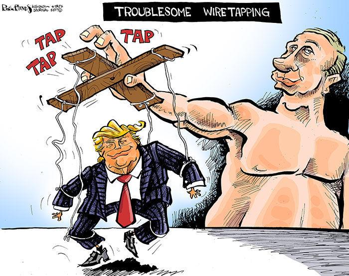 Hands on Wisconsin: Vladimir Putin taps President Donald Trump's wires |  Opinion | columbustelegram.com
